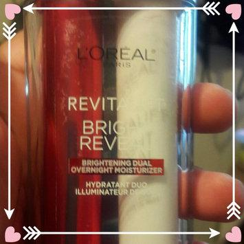 Photo of L'Oréal Paris RevitaLift® Bright Reveal Brightening Dual Overnight Moisturizer uploaded by geneva p.