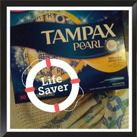 Tampax Pearl Regular Plastic Tampons Unscented 50Ct uploaded by Clair B.