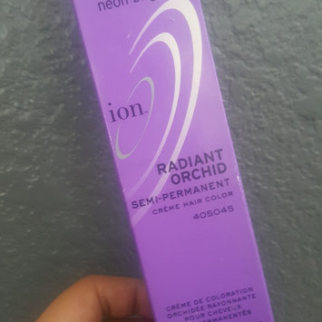 Photo of Ion Color Brilliance Semi Permanent Neon Brights Hair Color Radiant Orchid uploaded by Judith Z.
