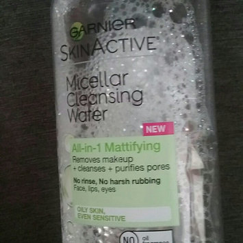 Garnier Skin Skinactive Micellar Cleansing Water All-In-1 Cleanser and Waterproof Makeup Remover uploaded by Bethany R.