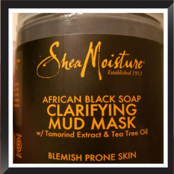 SheaMoisture African Black Soap Clarifying Mud Mask uploaded by April B.