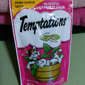 Photo of Whiskas Temptations Blissful Catnip Flavor Cat Treats uploaded by Leah B.