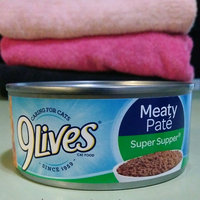 9Lives Meaty Pate Super Supper Wet Cat Food, 5.5-Ounce Can (Pack of 24) uploaded by Leah B.