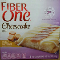 Fiber One Cheesecake Bar Salted Caramel uploaded by Denise G.