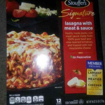 Photo of STOUFFER'S SIGNATURE CLASSICS Lasagna with Meat & Sauce 96 oz. Box uploaded by Judith C.