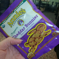 Annie's Homegrown® Extra Cheesy Cheddar Bunnies® Baked Snack Crackers uploaded by Roxanne K.