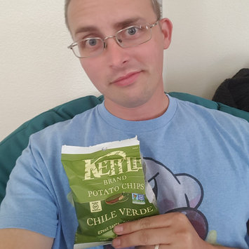 Photo of KETTLE BRAND®Potato Chips Chile Verde uploaded by Michael B.
