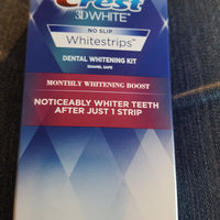 WS Daily Whitening&Tartar Prot Crest 3D White Whitestrips Monthly Whitening Boost, 12 Treatments uploaded by Jessie W.