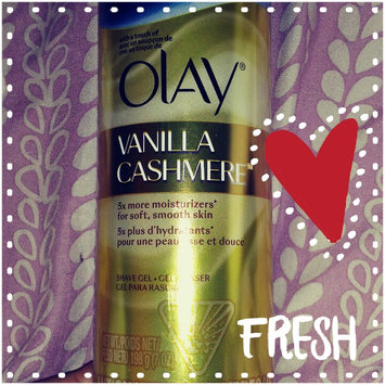 Gillette Venus® with a touch of Olay® Vanilla Cashmere™ Shave Gel uploaded by Journee H.