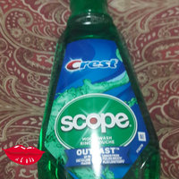 Crest Plus Scope Outlast Mouthwash, Peppermint uploaded by RUTH G.