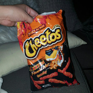 CHEETOS® Crunchy XXTRA FLAMIN' HOT® Cheese Flavored Snacks uploaded by Brenda G.