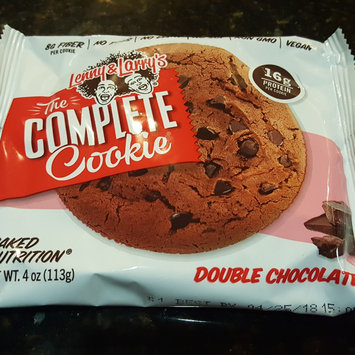 Lenny Larry's Lenny & Larry's The Complete Cookie, Double Chocolate, 4-Ounce Cookies (Pack of 12) [{