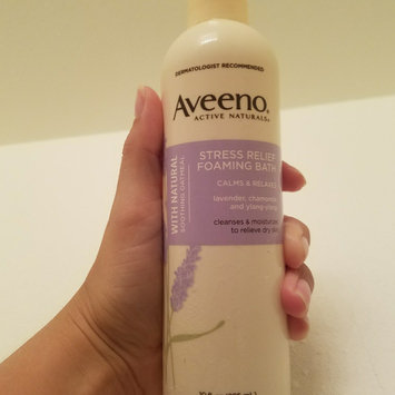 Aveeno Active Naturals Stress Relief Foaming Bath uploaded by Briana H.