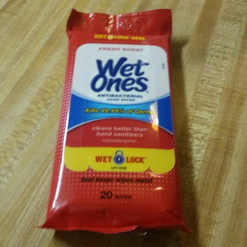 Wet Ones Antibacterial Hand Wipes Fresh Scent 20 ct uploaded by Jeremiah f.