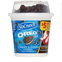 YoCrunch® Vanilla with M&M's™ Chocolate Candies/Cookies 'n Cream with Oreo® Cookie Pieces Lowfat Yogurt uploaded by gurlsss2000 g.