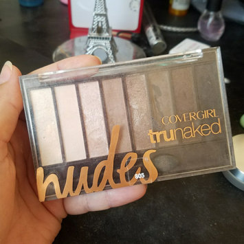 COVERGIRL truNAKED Shadow Palettes uploaded by Briana H.