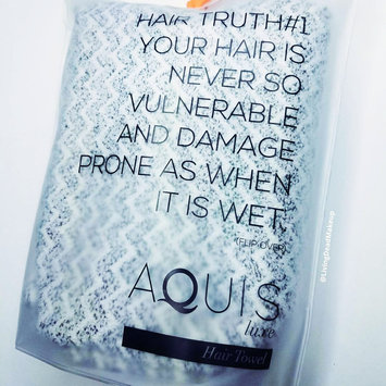 AQUIS Lisse Luxe Hair Towel uploaded by Ashley E.