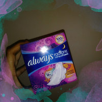 Infinity Always Radiant Overnight with wings scented Pads 11 count uploaded by Cassandra D.