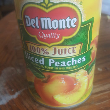 Photo of Del Monte® Sliced Yellow Cling Peaches in 100% Juice uploaded by Keiondra J.