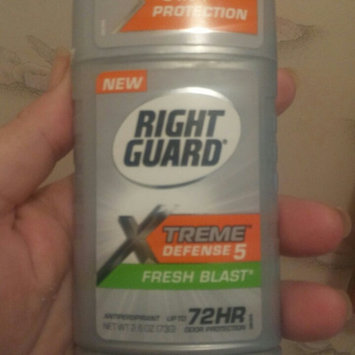 Right Guard Total Defense 5 Power Deodorant, Power Play, 3-Ounce Units (Pack of 6) uploaded by Stacey H.