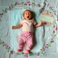 Babies R Us Lulujo Milestone Blanket & Cards - Isn't She Lovely uploaded by Tiffany B.