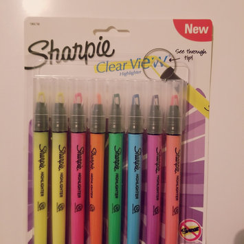 Photo of Sharpie(R) Clear View(R) Stick Highlighters, Chisel Tip, Assorted, Pack Of 8 uploaded by Jessica H.