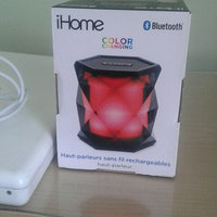 Ihome - Portable Bluetooth Speaker - Translucent Gray uploaded by Rachael C.