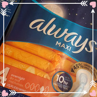 Always Maxi Pads Overnight without Flexi-Wings uploaded by Derricka M.