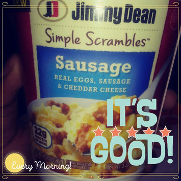 Jimmy Dean Sausage Simple Scrambles™ uploaded by Journee H.