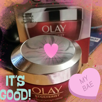 Photo of Olay Regenerist Micro-Sculpting Cream uploaded by Leslie R.