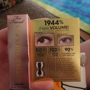 Too Faced Better Than Sex Mascara uploaded by Amanda M.