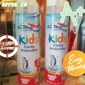 Aquafresh Kids Cavity Protection Toothpaste uploaded by Jessica V.