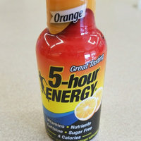 Orange Regular Strength 5-hour ENERGY® Shot uploaded by Natalie F.