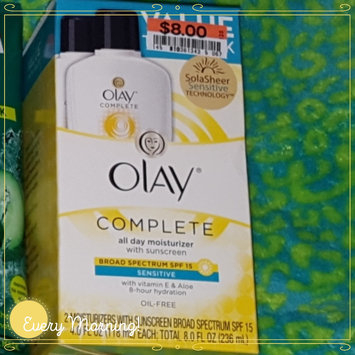 Olay Complete Cream All Day Moisturizer with SPF 15 for Sensitive Skin uploaded by Melissa Z.