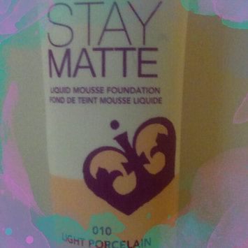 Rimmel Stay Matte Liquid Mousse Foundation uploaded by Maia H.