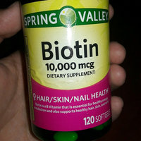 Spring Valley Biotin Tablets uploaded by Lesly L.