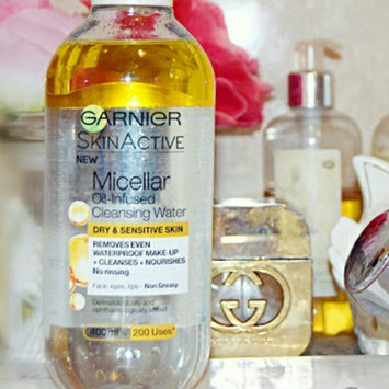 Garnier Skinactive Micellar Cleansing Water All-in-1 Makeup Remover & Cleanser 3 oz uploaded by Marianne N.