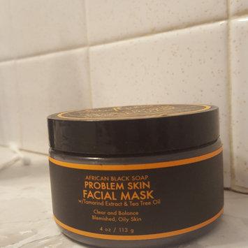 SheaMoisture African Black Soap Problem Skin Facial Mask uploaded by Holleen D.