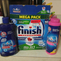 Finish Powerball Tablet Dishwasher Detergent, Fresh Scent, 100 ct, 70.5 oz uploaded by Jess B.