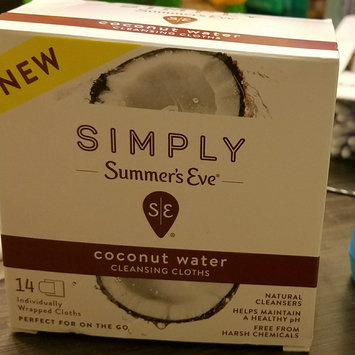 Simply Summer's Eve Coconut Water Feminine Wipe - 14ct, None - Dnu uploaded by Vanessa C.