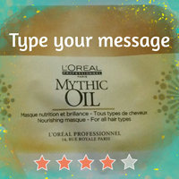 L'Oréal Professionnel Oil Light Mask Mythic Oil uploaded by Brandy P.
