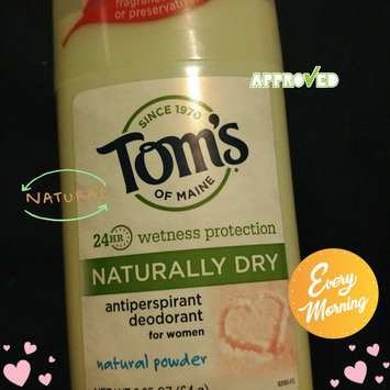 Photo of Tom's of Maine Women's Natural Powder Antiperspirant Stick Deodorant uploaded by LaLa W.
