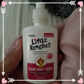 Little Remedies For Noses Saline Spray/Drops For All Ages uploaded by isabel r.