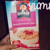 Quaker® Strawberry & Cream Instant Oatmeal uploaded by Genedra T.