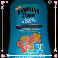 Hawaiian Tropic Island Sport Lotion Sunscreen Broad Spectrum SPF 30 - 2 Ounces uploaded by Jeanette H.