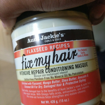 Photo of Aunt Jackie's Fix My Hair Intensive Repair Conditioning Masque 15 oz. (Pack of 6) uploaded by Laur-Edine P.