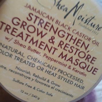 Photo uploaded to SheaMoisture Jamaican Black Castor Oil Strengthen, Grow & Restore Treatment Masque w/ Shea Butter, Peppermint & Keratin by Orietta A.