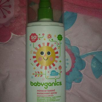 Photo of Babyganics Tear Free Mineral-Based Sunscreen Spray 50+ SPF uploaded by Rachael ..