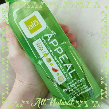 Photo of Alo Appeal Pomelo, Lemon & Pink Grapefruit Aloe Vera Drink, 16.9 fl oz, (Pack of 12) uploaded by Alyssa C.