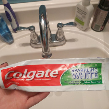 Photo of Colgate® Baking Soda SPARKLING WHITE® Toothpaste Mint Zinc Gel uploaded by Sophie R.